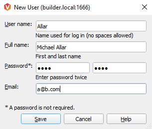 New User