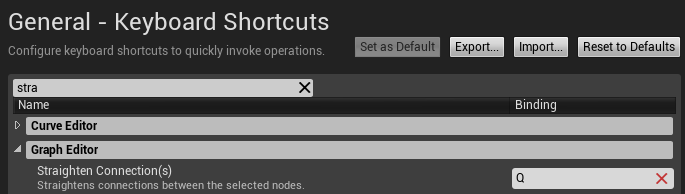 Straighten Shortcuts