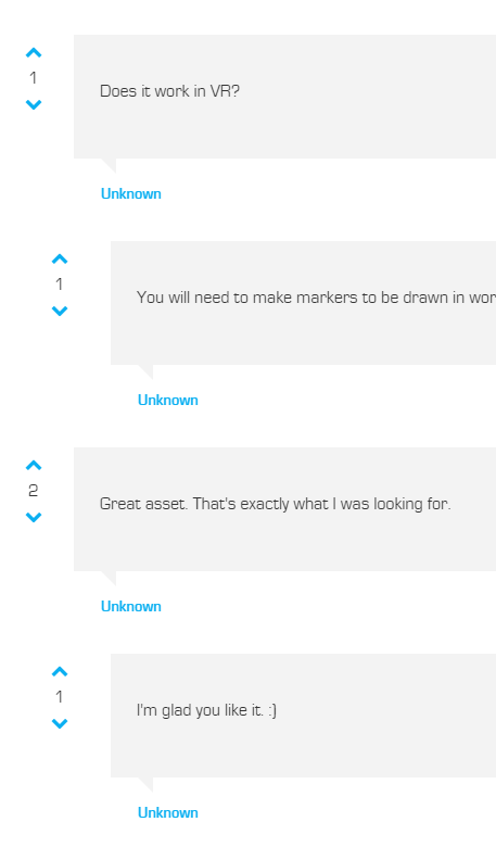 Fixing UE4 Marketplace Comment Usernames Being Unknown